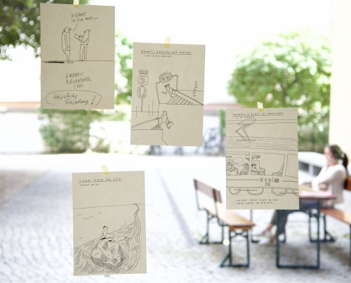 Grafic Recordings von Johanna Benz